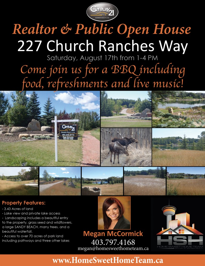 227 Church Ranches- OPEN HOUSE FLYER