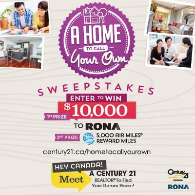 Century 21 Rona Contest