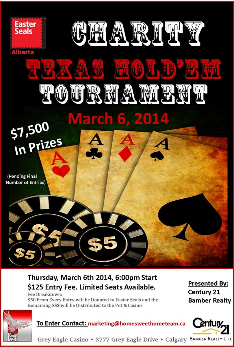 Easter Seals Poker Tournament Ad